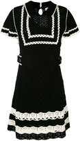 RED Valentino shortsleeved knitted dress