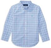Ralph Lauren Boys' Checked Poplin Shirt - Little Kid
