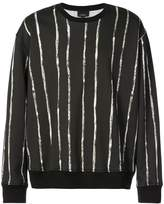3.1 Phillip Lim Painted-stripe sweatshirt