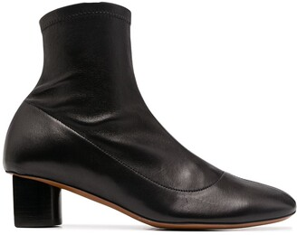 Clergerie Block-Heel Ankle Boots