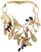 Goossens leaf construct necklace