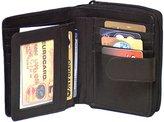 Genuine Leather Cowhide Ladies Medium Wallet , TAN # 7509