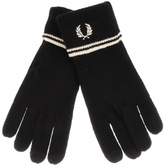 Fred Perry Twin Tipped Touch Screen Gloves Blak