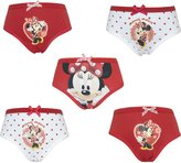 Disney Baby Minnie Mouse 5 Pack Girls Pants / Knickers