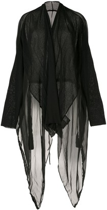 Masnada Long Sheer Cardigan
