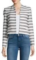 Calvin Klein Cropped Knit Blazer