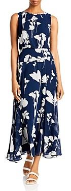 Karl Lagerfeld Paris Floral Print Maxi Dress