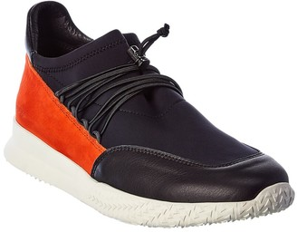Arche Andy Leather & Suede-Trim Sneaker