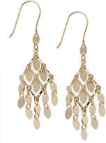 Macy's 10k Gold Earrings, Chandelier Earrings