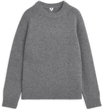 Arket Heavy Knit Wool Jumper