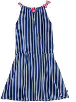 Tommy Hilfiger Drop Waist Wrap Dress, Big Girls