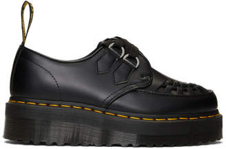 Dr. Martens Black Sidney Chunky Wedge Derbys