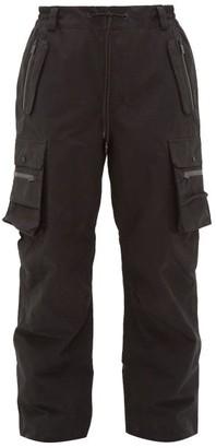 TEMPLA 3l Argo Technical Cotton-blend Ski Trousers - Black