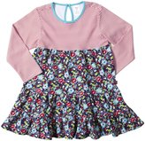 Zutano Oopsie Daisy Dress (Toddler/Kid)-Navy-4T