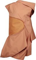 Rick Owens Ruffled cotton-blend twill tunic