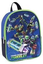 """Teenage Mutant Ninja Turtles Toddler Boy's 10"""" Backpack - Blue"""