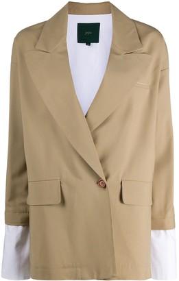 Jejia Cropped Sleeve Blazer