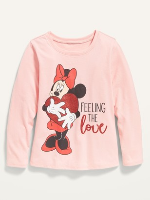 """Old Navy Disney Minnie Mouse """"Feeling the Love"""" Long-Sleeve Tee for Toddler Girls"""