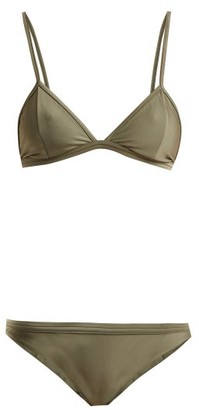 Haight Low-rise Triangle Bikini - Womens - Khaki