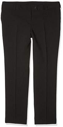 Workwear World WW152 Ladies Slim Fit Leg Beauty Spa Salon Polyester Work Wear Trousers with Pockets (, )