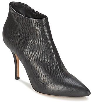 JFK LIZARD women's Low Boots in Black
