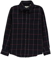 Hartford Double Faced Checked Plaid Paul Shirt
