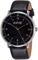 August Steiner Men's AS8090BK Analog Display Swiss Quartz Watch