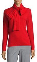 Zac Posen Long-Sleeve Cashmere Pullover