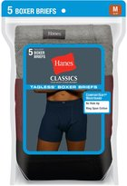 Hanes Classics Men`s Dyed Boxer Briefs with ComfortSoft Waistband, 769CP5, M