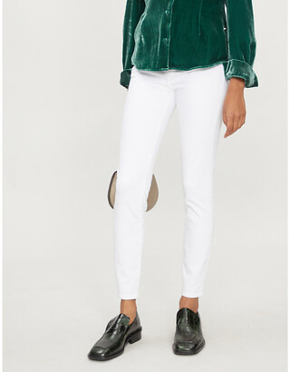 J Brand Alana skinny cropped mid-rise jeans