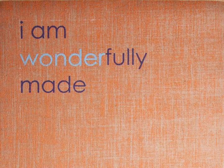 Affirmats I Am Wonderfully Made Yoga Mat