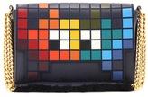 Anya Hindmarch Ephson Space Invader Leather Shoulder Bag