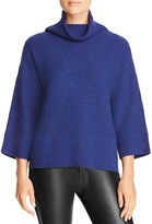 Magaschoni Ribbed Cashmere Turtleneck Sweater