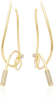 Joanna Laura Constantine Gold-Plated Knot Hoop Earrings