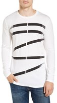 Men's Vestige Shadow Bars Long Sleeve T-Shirt