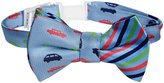 Andy & Evan Car Bow Tie (Toddler/Kid) - Light Blue 2/4T