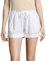 Bella Dahl Eyelet Trim Shorts