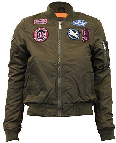 Thumbnail for your product : Brave Soul Ladie's Jacket OSLOCAMO Camouflage UK 12