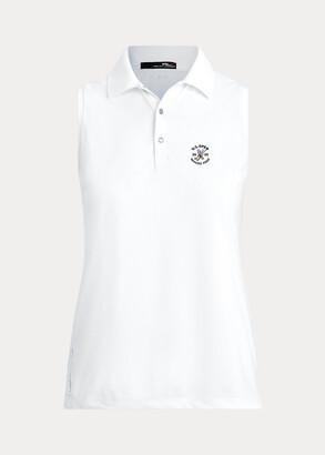 Ralph Lauren Sleeveless Pique Golf Polo Shirt