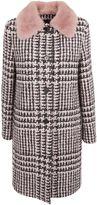 Ermanno Scervino Collar Detail Coat