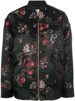 MM6 MAISON MARGIELA floral bomber jacket - women - Polyester/Viscose - 38