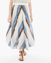 Chico's Tribal Stripes Skirt