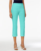 JM Collection Slim-Leg Capri Pants, Created for Macy's