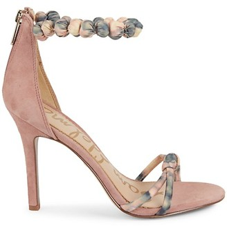 Sam Edelman Aria Suede Ankle-Strap Sandals