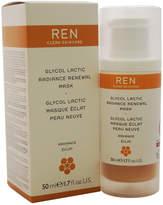 REN Unisex 1.7Oz Glycol Lactic Radiance Renewal Mask
