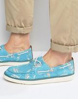 Timberland Hookset Print Boat Shoes