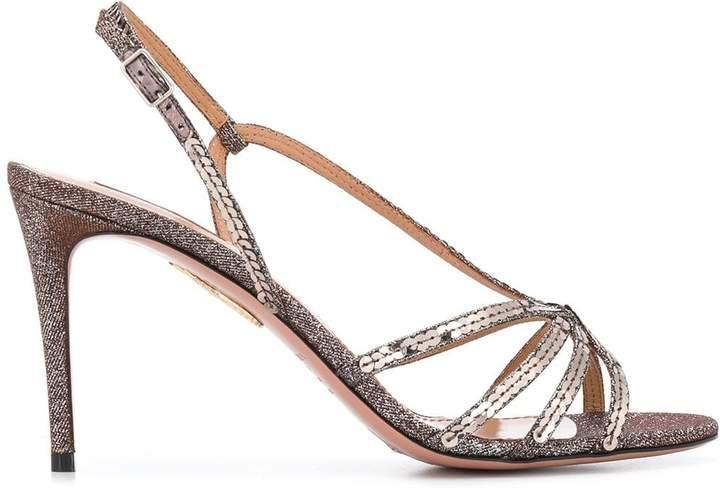 Aquazzura Paradis 85 sandals