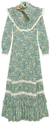 Gucci Liberty floral print maxi dress