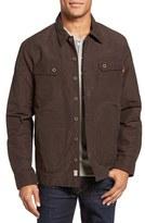 Timberland Men's Waxed Canvas Shirt Jacket