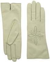 Badgley Mischka Women's Laser-Cut Glove